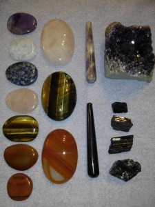 Minéraux massage